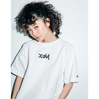 X-girl - 新品未使用Xgirl チャンピオン限定コラボtシャツ