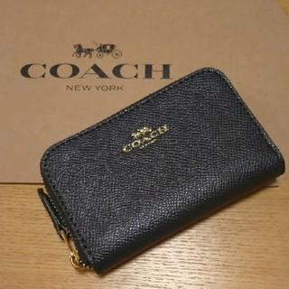 コーチ(COACH)の新品 ⭐ COACH コーチ コインケース ミッドナイト ⭐(コインケース/小銭入れ)