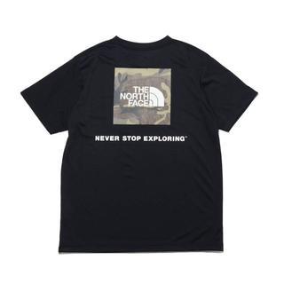 THE NORTH FACE - Lサイズ(新品)ノースフェイス  カモフラージュ半袖Tシャツ 黒