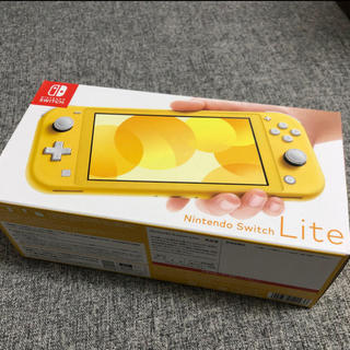 Nintendo Switch - 【新品未使用】Nintendo Switch Lite イエロー