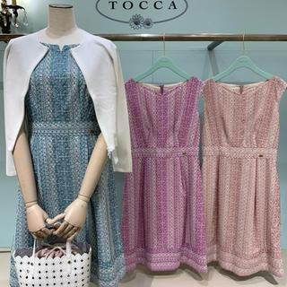 TOCCA - 新品タグ付【TOCCA】洗える!TEAGLASSドレス