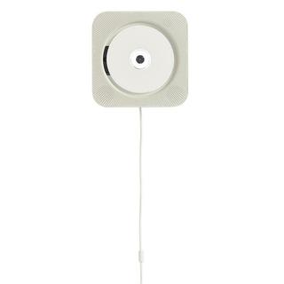 ムジルシリョウヒン(MUJI (無印良品))の無印良品 (新品未使用 保証書付き)壁掛式CDプレーヤー(スピーカー)