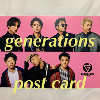 GENERATIONS - generations  [post card]
