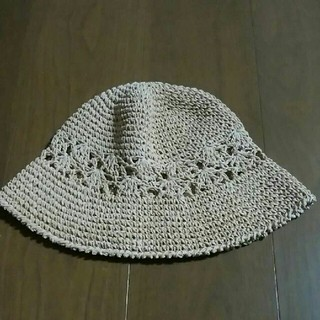 エイチアンドエム(H&M)のH&M 麦わら帽子(麦わら帽子/ストローハット)