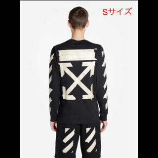 OFF-WHITE - 新品20SS OFF-WHITE テープ アロー ロングTシャツ ブラック S