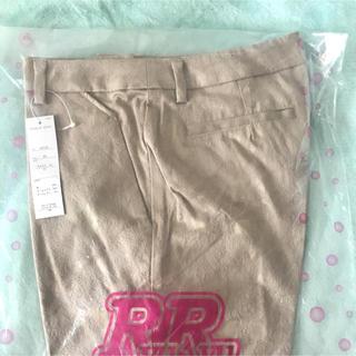 リュリュ(RyuRyu)の【未使用】ジャガード織り七分丈パンツ(カジュアルパンツ)