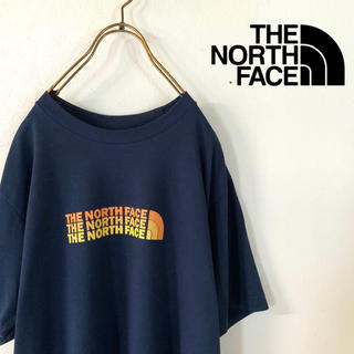 THE NORTH FACE - 【美品】THE NORTH FACE ノースフェイス ロゴ tシャツ