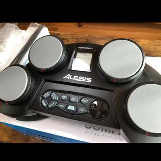 電子ドラム ALESIS COMPACTKIT4 中古品 本体・ACアダプター付(電子ドラム)