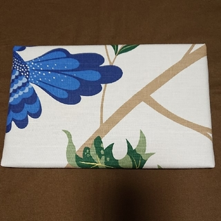 マリメッコ(marimekko)のミニアイロン台 青鳥柄 ハンドメイド(雑貨)