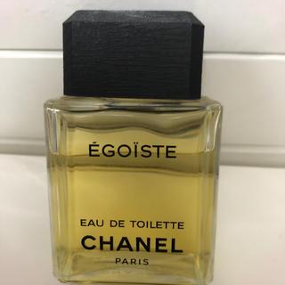 シャネル(CHANEL)のCHANEL エゴイスト75ml。未使用、お箱なし。(香水(男性用))