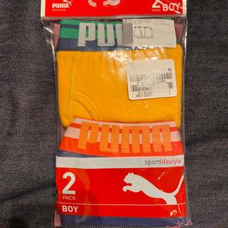 PUMA - 新品未使用 ボクサーパンツ  プーマ 2枚セット 130