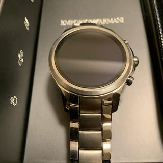 エンポリオアルマーニ(Emporio Armani)のエンポリオアルマーニ  スマートウォッチ(腕時計(デジタル))