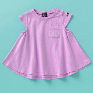 petit main - 新品◆petitmain プティマイン 胸ポケットAラインTシャツ