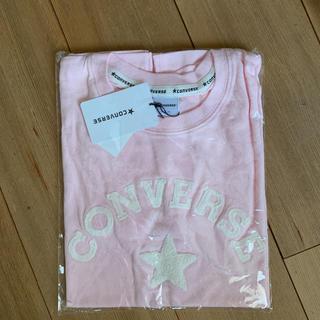 CONVERSE - 新品 コンバース 刺繍Tシャツ ピンク