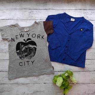 BREEZE - 【2点セット♡110】Tシャツ&カットソーカーディガン エフオーキッズ ブリーズ