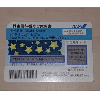 ANA(全日本空輸) - 全日空  ANA  株主優待券 1枚