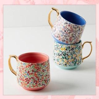 アンソロポロジー(Anthropologie)のアンソロポロジー マグカップ(グラス/カップ)