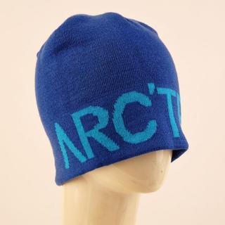 アークテリクス(ARC'TERYX)のアークテリクス ブルー ニット帽ARC'TERYXビーニー ニットキャップ 新品(ニット帽/ビーニー)