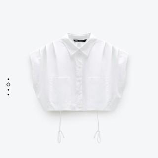 ZARA - ZARA クロップドシャツ