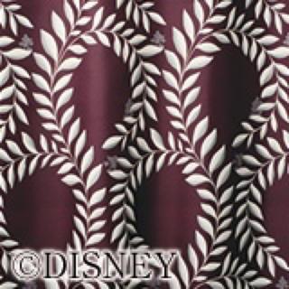ディズニー(Disney)のディズニー・ミッキー 1級遮光カーテン ローレル[ミッキー]  オーダーメイド(カーテン)