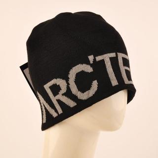 アークテリクス 黒 ニット帽ARC'TERYXビーニー ニットキャップ 新品(ニット帽/ビーニー)