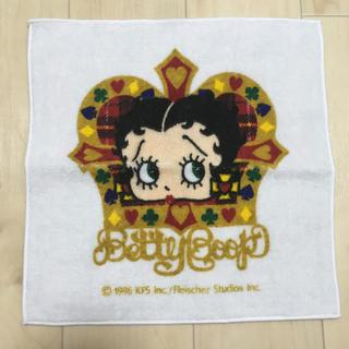 サンリオ - Betty Boop 片面ガーゼのタオルハンカチ