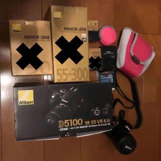ニコン(Nikon)のNikonニコン D5100 18-55 VR Kit デジタル一眼レフセット(デジタル一眼)