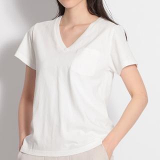 ニコアンド(niko and...)の本日限定値下げ❗️niko and...USAコットン VネックTシャツ(Tシャツ(半袖/袖なし))