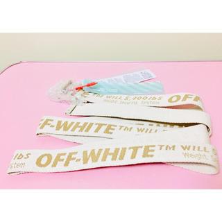 オフホワイト(OFF-WHITE)のOFF-WHITE INDASTRIAL BELT ロングタイプ  (ベルト)