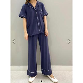 gelato pique - ジェラートピケ クールパイピングシャツ ロングパンツ セットアップ 新品