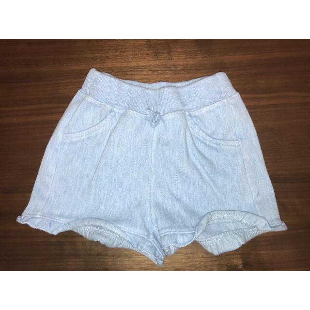 UNIQLO(ユニクロ)のショートパンツ 80 キッズ/ベビー/マタニティのベビー服(~85cm)(パンツ)の商品写真