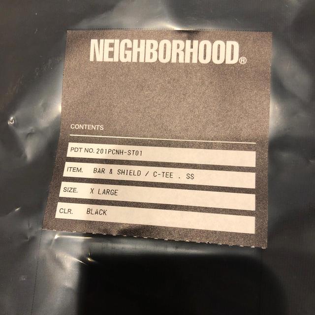 NEIGHBORHOOD(ネイバーフッド)の値引き!ネイバーフッド BAR&SHIELD / C-TEE メンズのトップス(Tシャツ/カットソー(半袖/袖なし))の商品写真