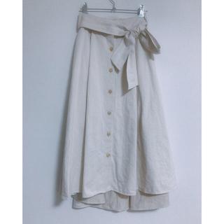 ガリャルダガランテ(GALLARDA GALANTE)のHERITANOVUMミモレ丈スカート(ロングスカート)
