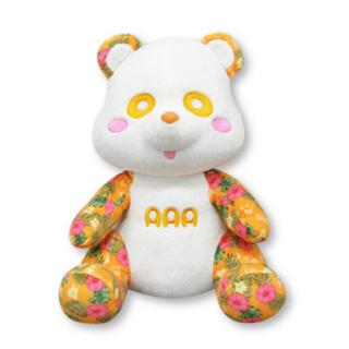 AAA - AAA え〜パンダ ぬいぐるみ オレンジ