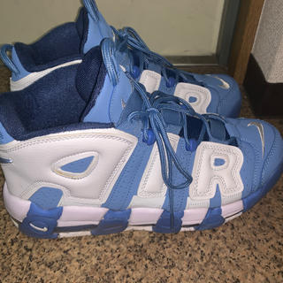 NIKE - NIKE Air More up tempo 美品 blue