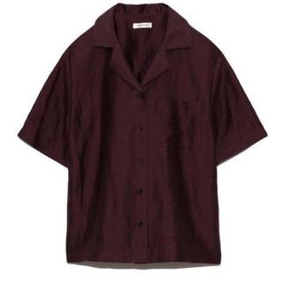 フレイアイディー(FRAY I.D)のFRAY I.D / フレイアイディー リネンシルク開襟シャツ(シャツ/ブラウス(半袖/袖なし))