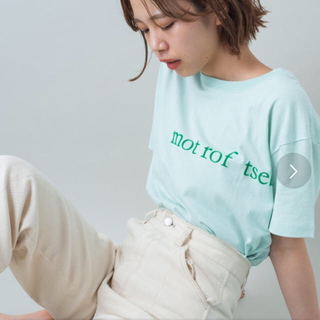 Kastane - タグ付き新品未使用 kastane フロッキー大ロゴT M