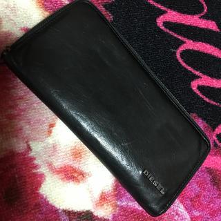 ディーゼル(DIESEL)のDIESEL♥中身キウイイエロー♥長財布♥ウォレット(財布)