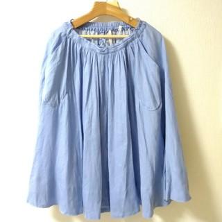 ルグラジック(LE GLAZIK)のBshop  CHOU CHOU  ブルースカート(ひざ丈ワンピース)