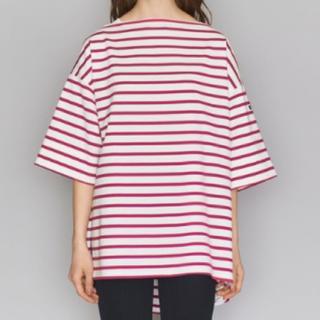 AMERICANA - 【新品】Americana ボーダーワイドTシャツ アメリカーナ