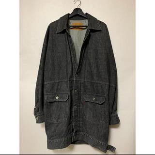 サンシー(SUNSEA)の18SS NEON SIGN pairs coat デニムジャケット コート(Gジャン/デニムジャケット)
