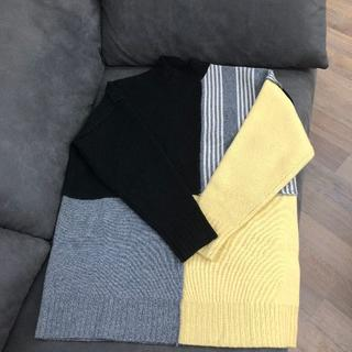 Jil Sander - JIL マルチカラー カラーブロック パネル セーター