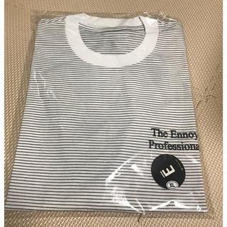 1LDK SELECT - The Ennoy BORDER TEE WHITE  XL