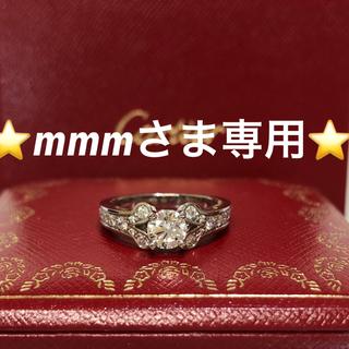 カルティエ(Cartier)の⭐︎ mmmさま専用⭐︎Cartier バレリーナ 0.62ct(リング(指輪))