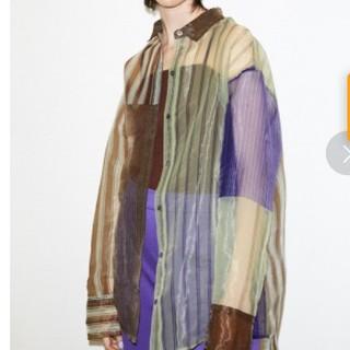 SLY - スライ SLY今期タグ付きシャツ(パープル)