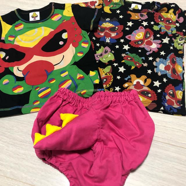 HYSTERIC MINI(ヒステリックミニ)のミニラ セット キッズ/ベビー/マタニティのキッズ服女の子用(90cm~)(Tシャツ/カットソー)の商品写真