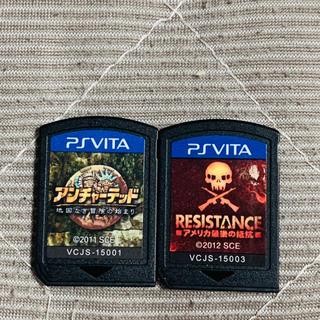 PlayStation Vita - vita アンチャーテッド レジスタンス 送料無料