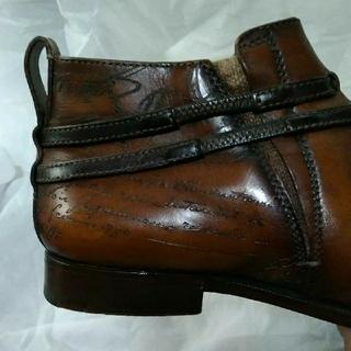 ベルルッティ(Berluti)のベルルッティ サイド カリグラフィー ブーツ ビジネスシューズ 革靴(ドレス/ビジネス)