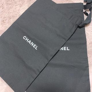 シャネル(CHANEL)のCHANEL 保存袋 2枚セット フラットシューズ用(ショップ袋)