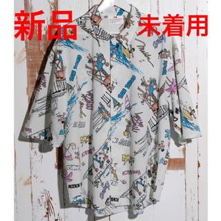 ビューティアンドユースユナイテッドアローズ(BEAUTY&YOUTH UNITED ARROWS)の新品 未使用 ボートメイクニュークローズ  ビッグシャツ メンズ レディース(Tシャツ/カットソー(半袖/袖なし))